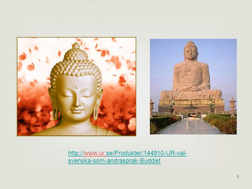 6 http://http://www.ur.se/Produkter/144910-UR-val- svenska-som-andrasprak-Buddistse/Produkter/144910-UR-val- svenska-som-andrasprak-Buddist