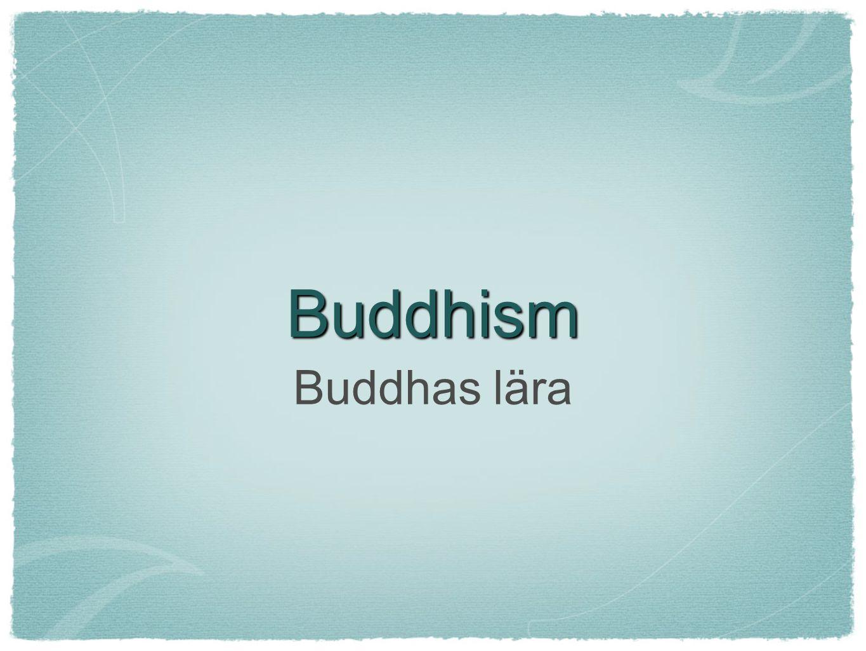 Theravada Den lilla vagnen Bara munkar kan ingå i Nirvana, fåtal lekmän har tid och möjlighet...