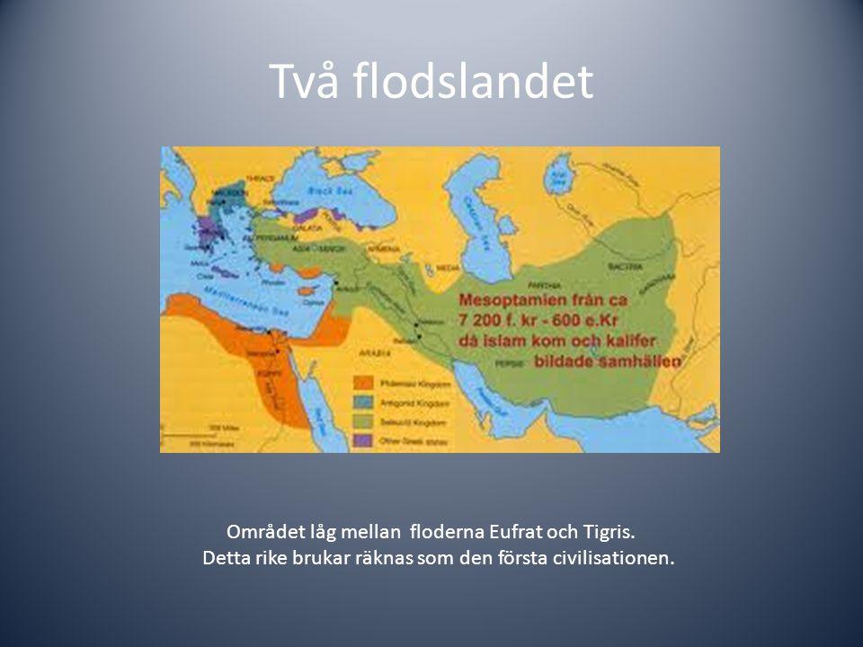 Varför läser vi om Mesopotamien: Första civilisationen.