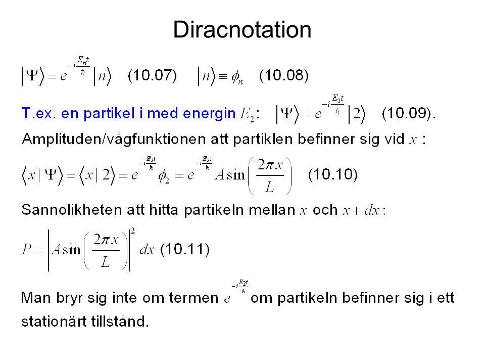 Diracnotation