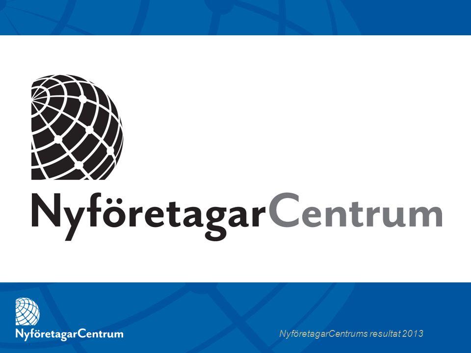 NyföretagarCentrums resultat 2013