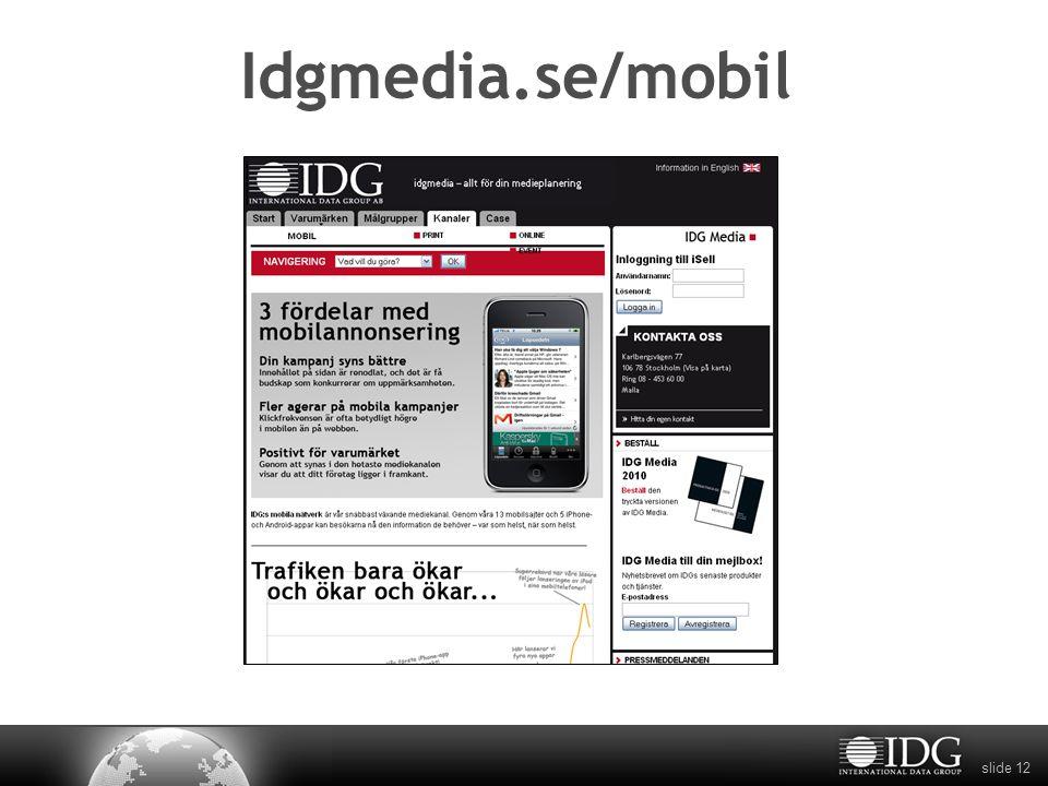 slide 12 Idgmedia.se/mobil