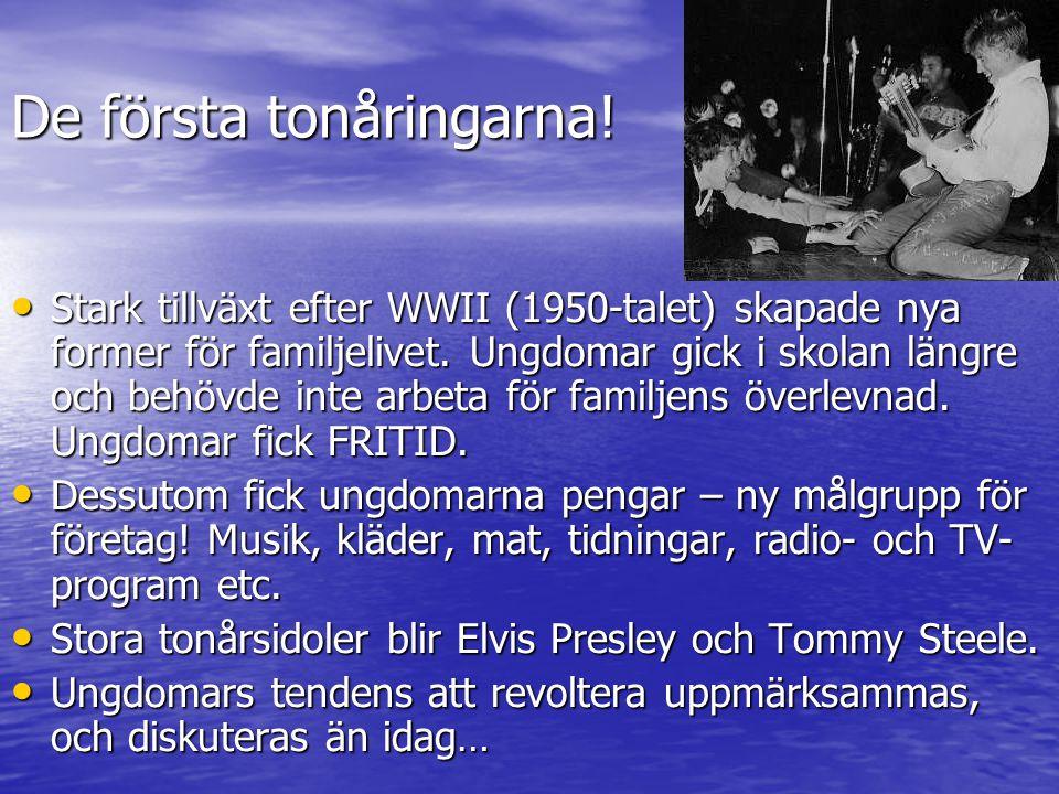 60-talet, pop och mods 60-talet såg födelsen av en ny musikgenre, popen, som var en något snällare variant av 50-talets rockmusik.
