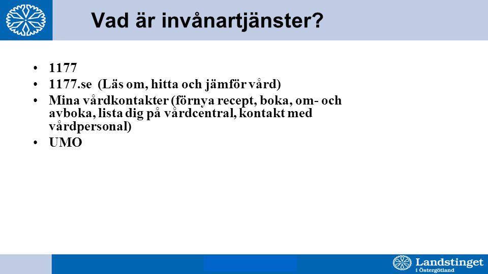 BjH 8 mars 2011 Vad är invånartjänster.