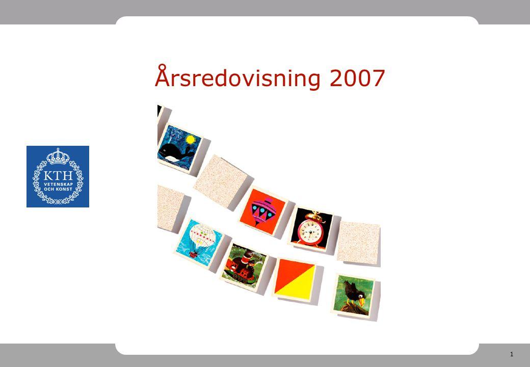 1 Årsredovisning 2007