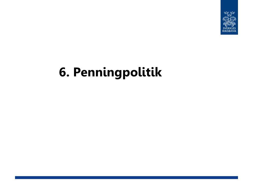 6. Penningpolitik