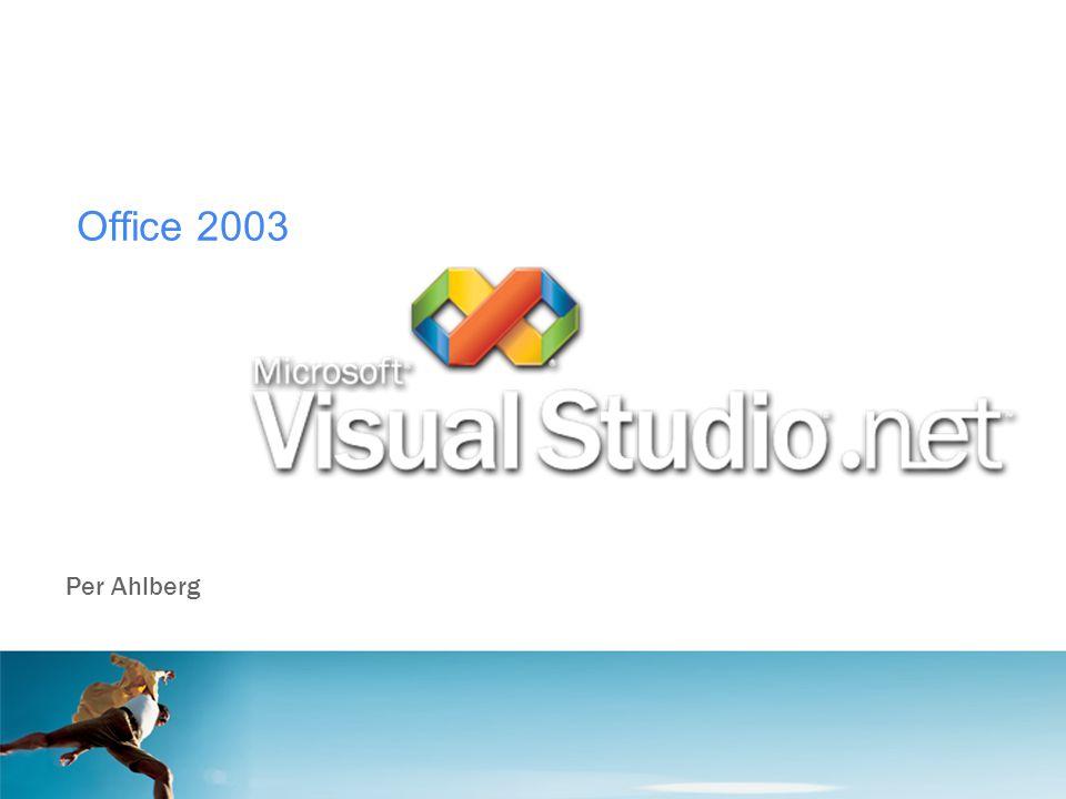Office 2003 Per Ahlberg