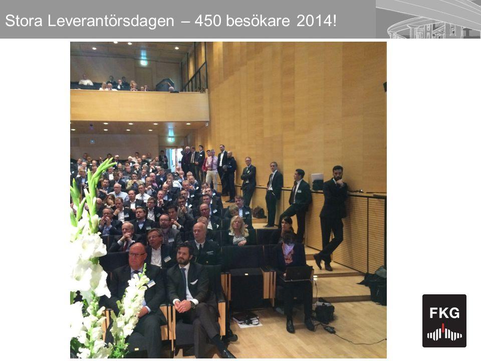 31 Stora Leverantörsdagen – 450 besökare 2014!