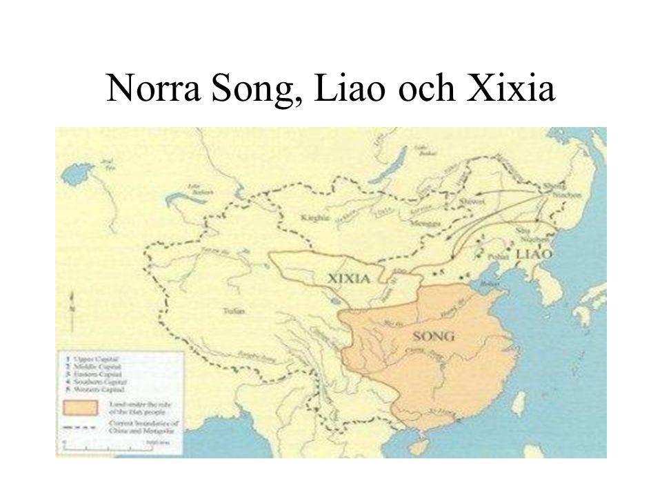 Norra Song, Liao och Xixia