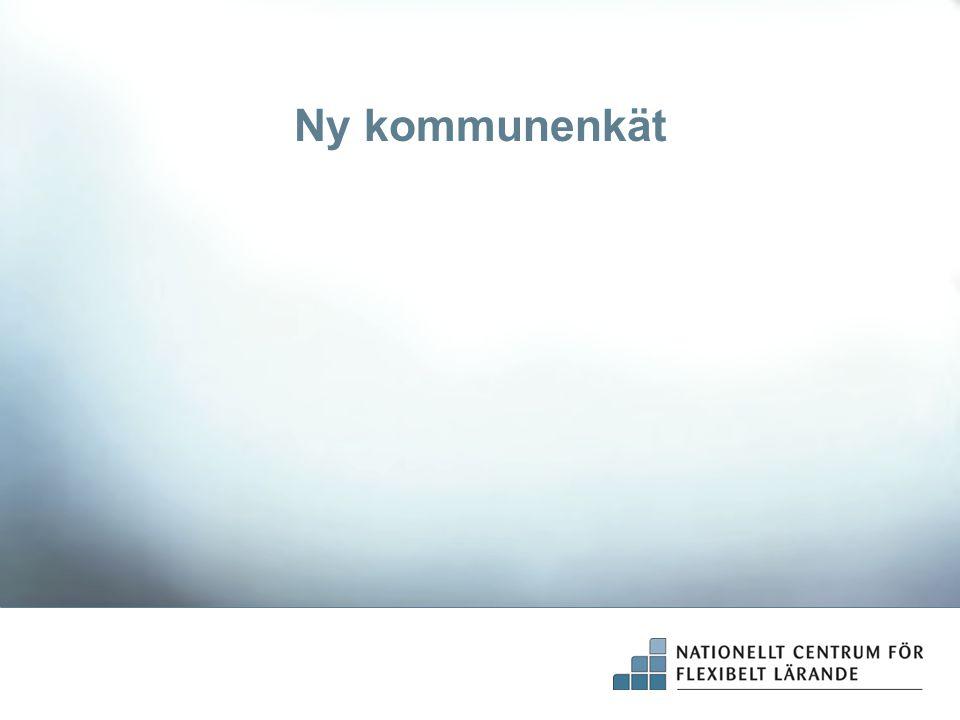 Ny kommunenkät