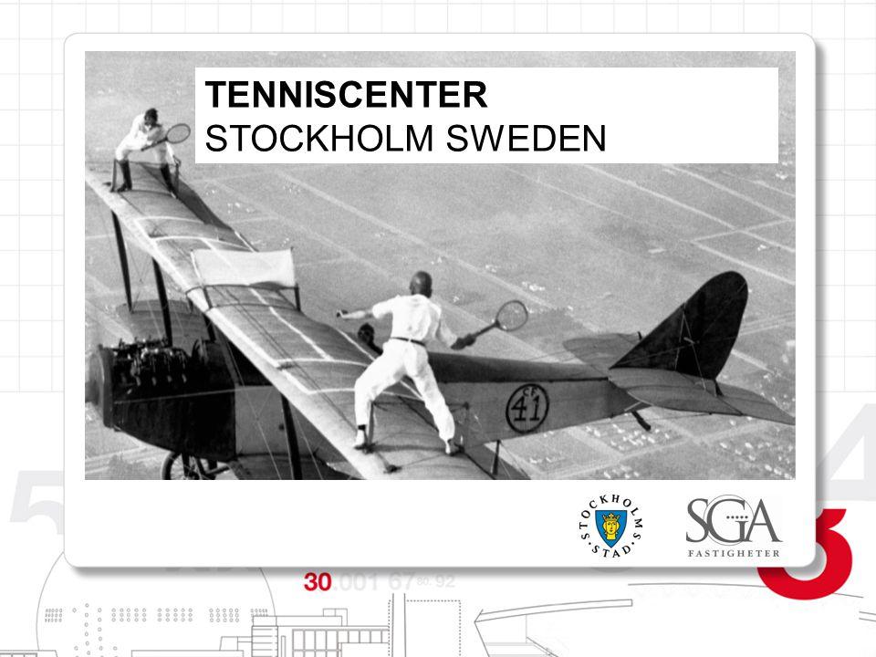 TENNISCENTER STOCKHOLM SWEDEN