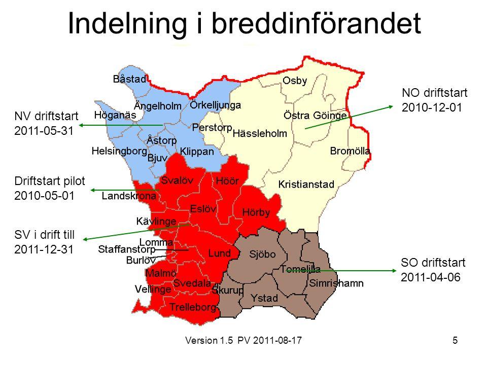 Version 1.5 PV 2011-08-176 Webb-baserad tjänst https://svpl.skane.se