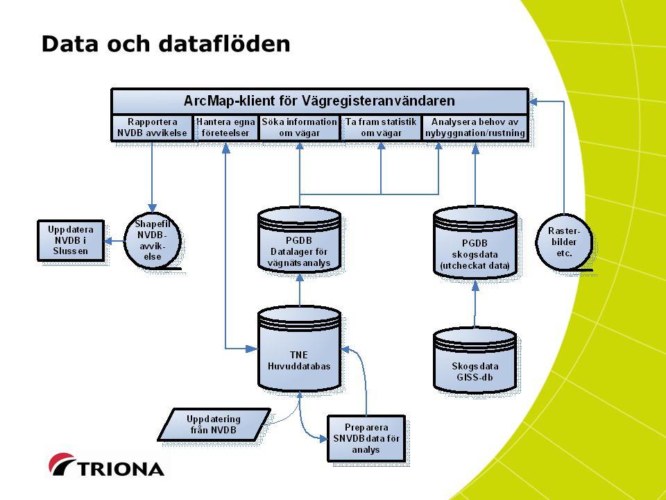 Data och dataflöden