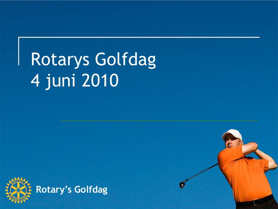 Rotarys Golfdag 4 juni 2010