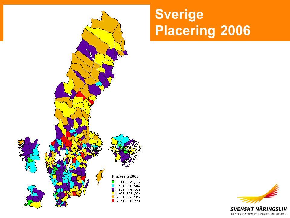 Antal anställda i företagen som har besvarat enkäten Lokalt företagsklimat 2006 - Vaggeryd