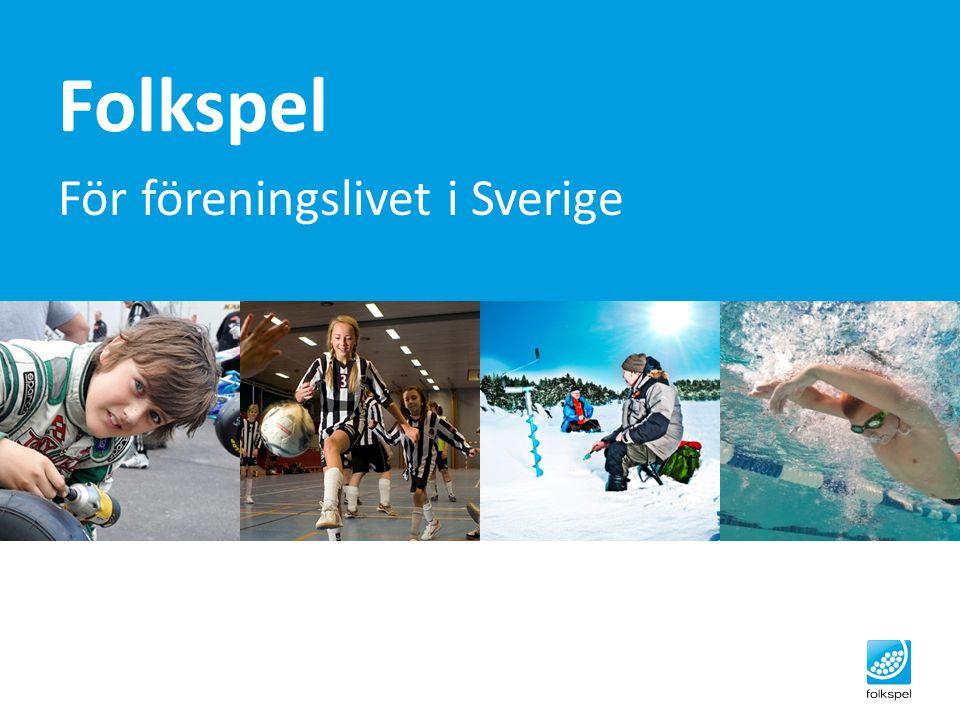 Folkspel För föreningslivet i Sverige