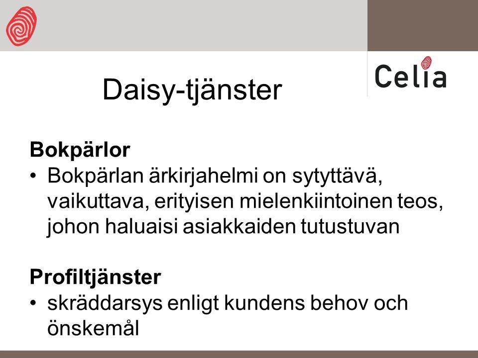 Daisy-tjänster Bokpärlor Bokpärlan ärkirjahelmi on sytyttävä, vaikuttava, erityisen mielenkiintoinen teos, johon haluaisi asiakkaiden tutustuvan Profiltjänster skräddarsys enligt kundens behov och önskemål