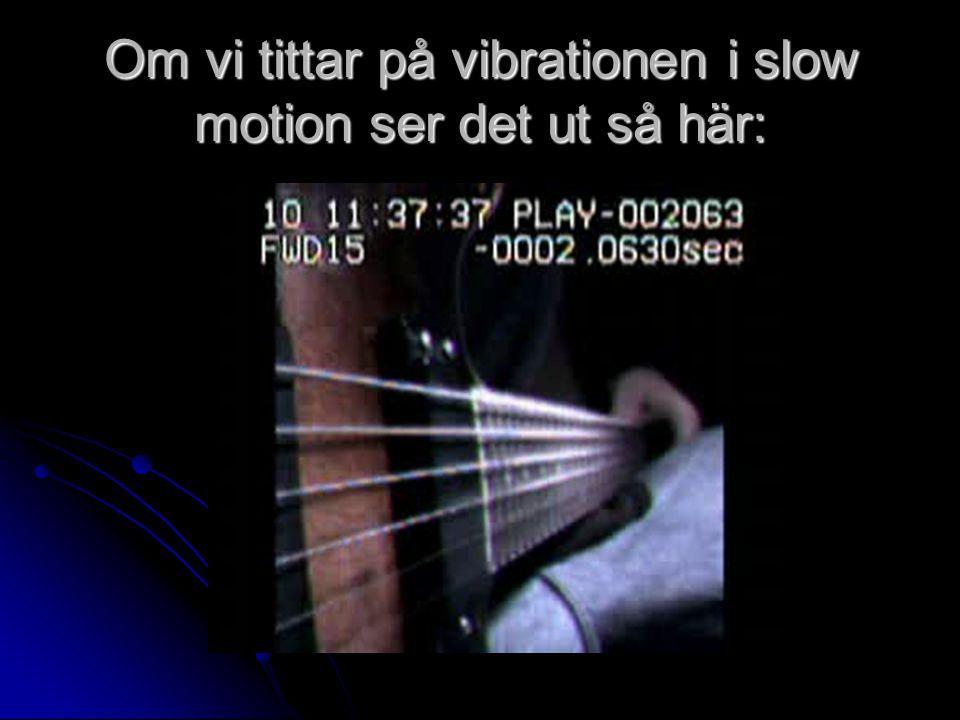 Om vi tittar på vibrationen i slow motion ser det ut så här: