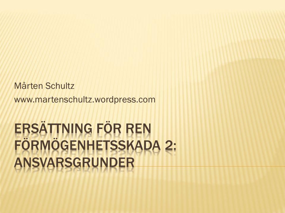 Mårten Schultz www.martenschultz.wordpress.com