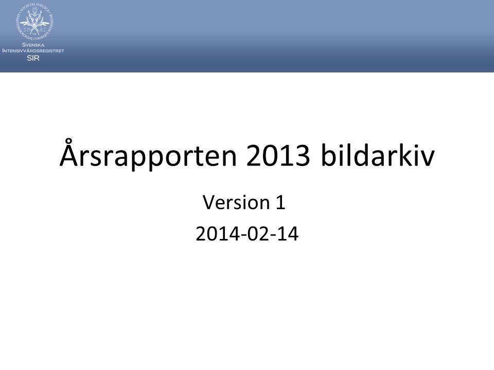 Årsrapporten 2013 bildarkiv Version 1 2014-02-14