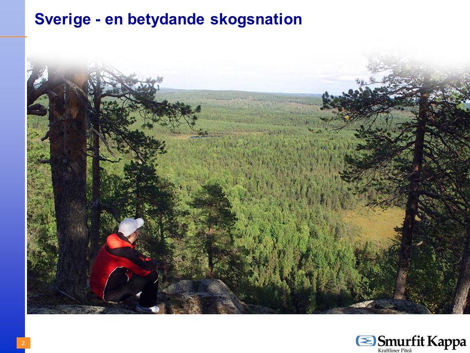 2 Sverige - en betydande skogsnation