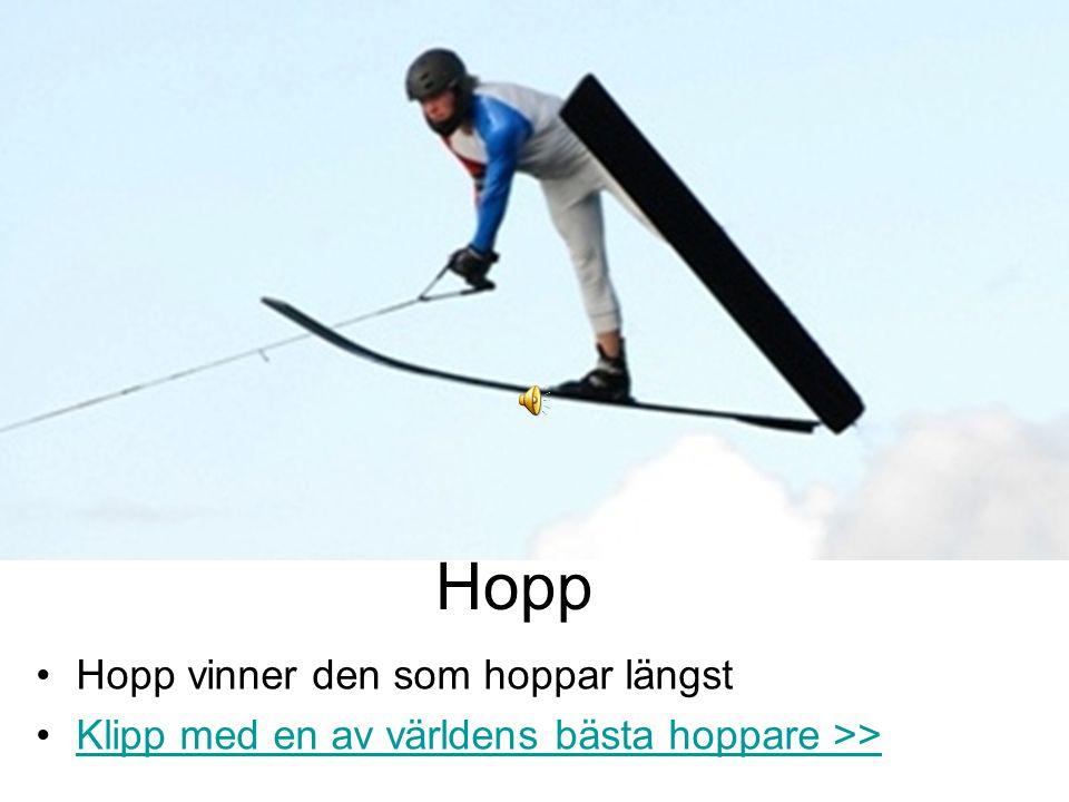Hopp Hopp vinner den som hoppar längst Klipp med en av världens bästa hoppare >>