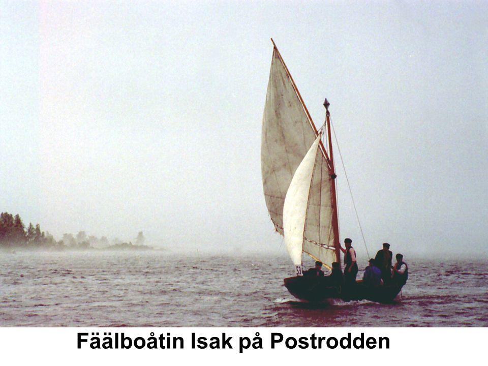Fäälboåtin Isak på Postrodden