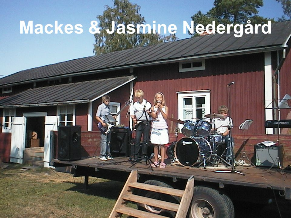 Mackes & Jasmine Nedergård