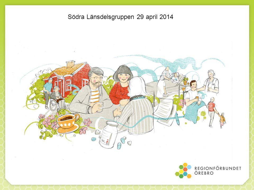 Södra Länsdelsgruppen 29 april 2014