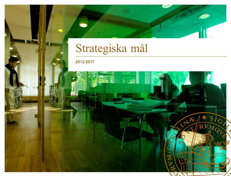Strategiska mål 2012-2017