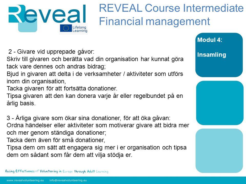 Modul 4: Insamling 2 - Givare vid upprepade gåvor: Skriv till givaren och berätta vad din organisation har kunnat göra tack vare dennes och andras bid