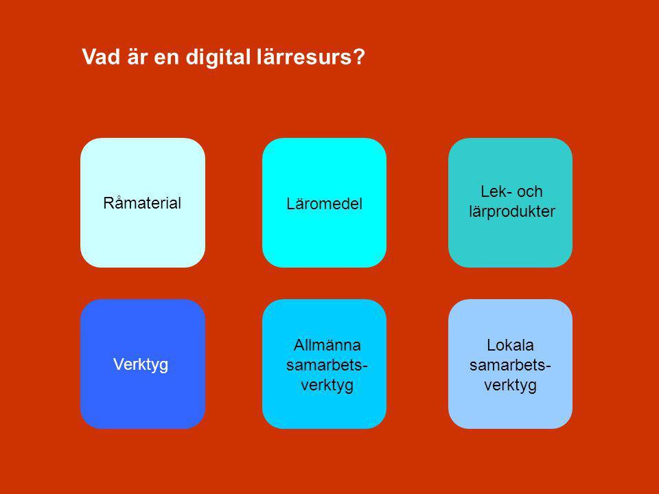 Vad är en digital lärresurs.