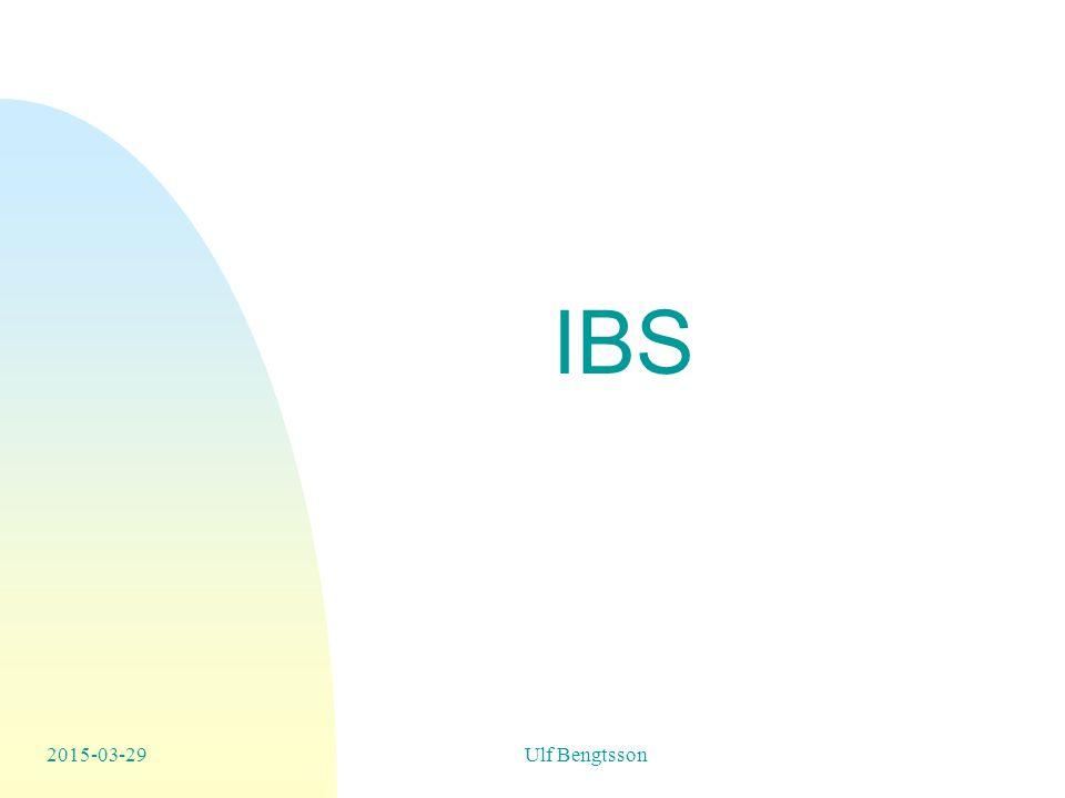 IBS 2015-03-29Ulf Bengtsson