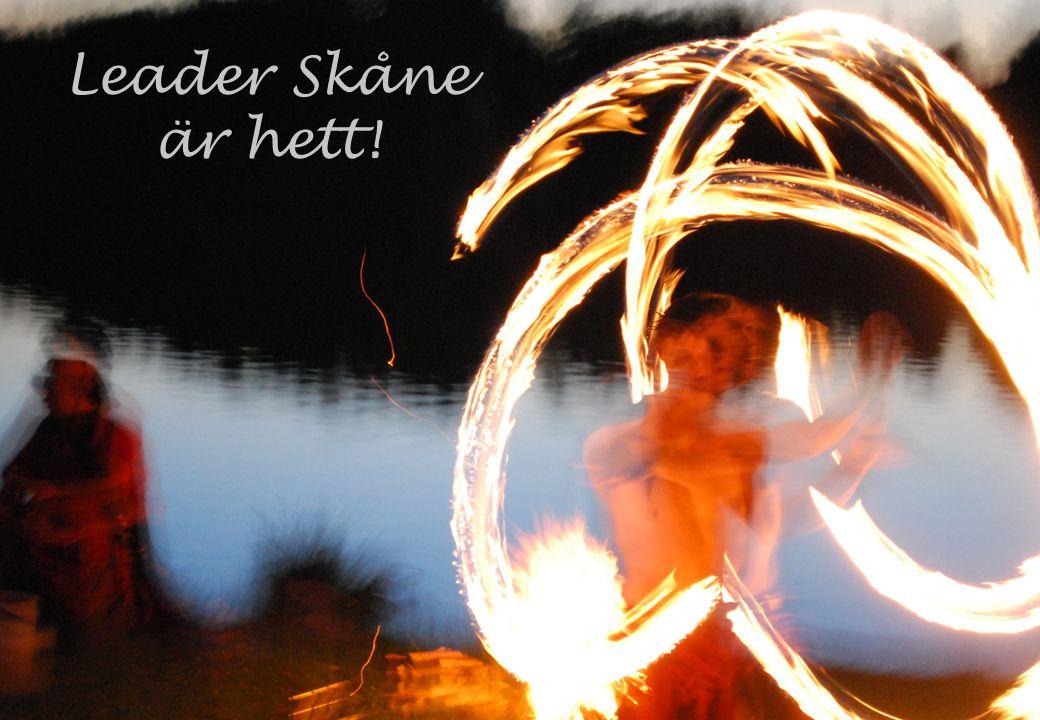 Leader Skåne är hett!