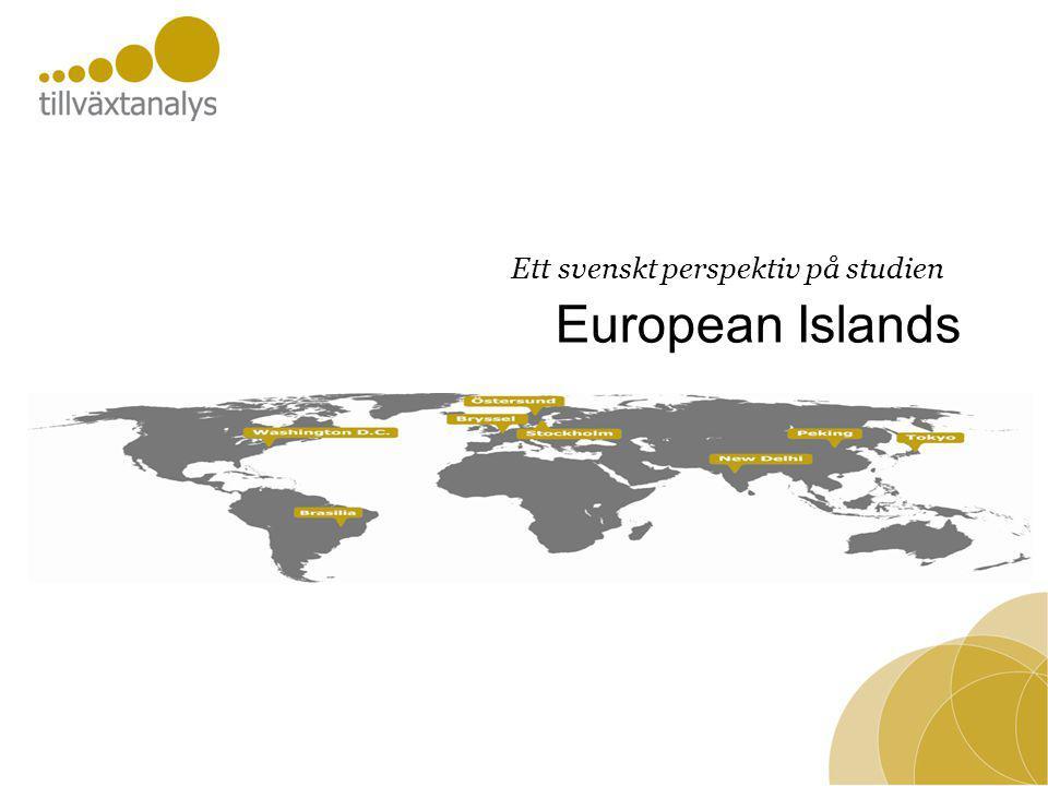 European Islands Ett svenskt perspektiv på studien