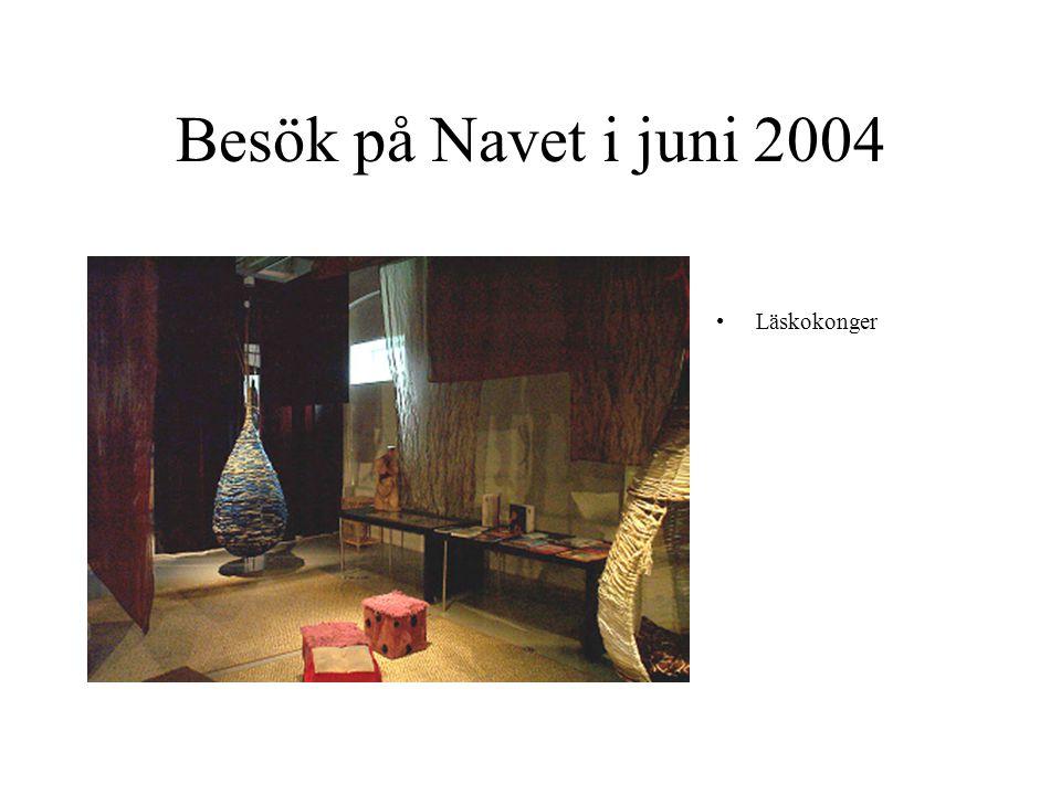 Besök på Navet i juni 2004 Läskokonger