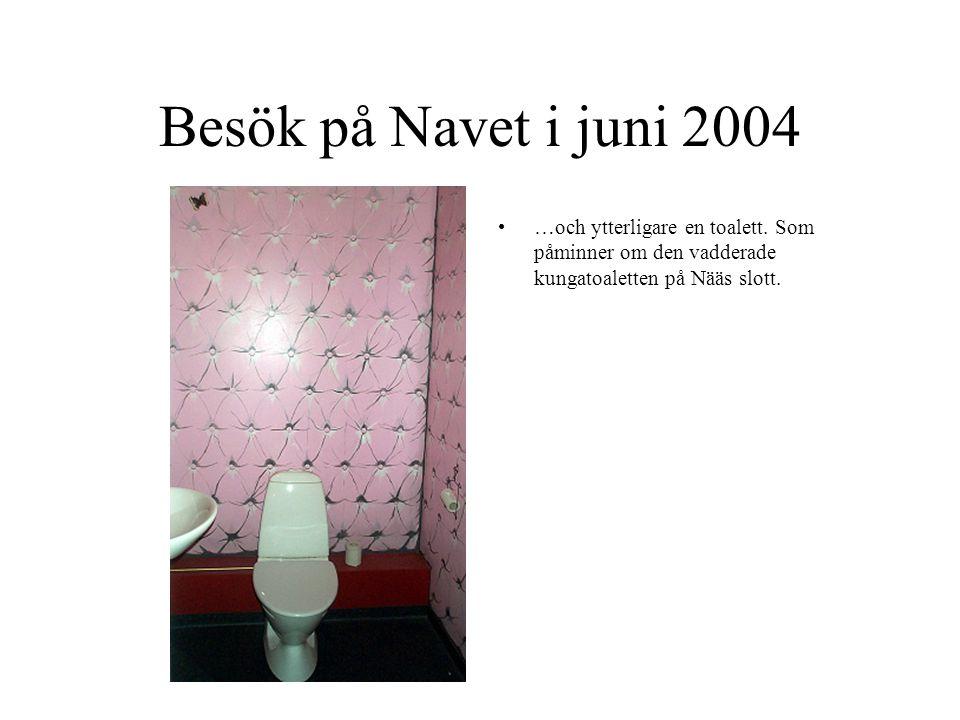 Besök på Navet i juni 2004 …och ytterligare en toalett.