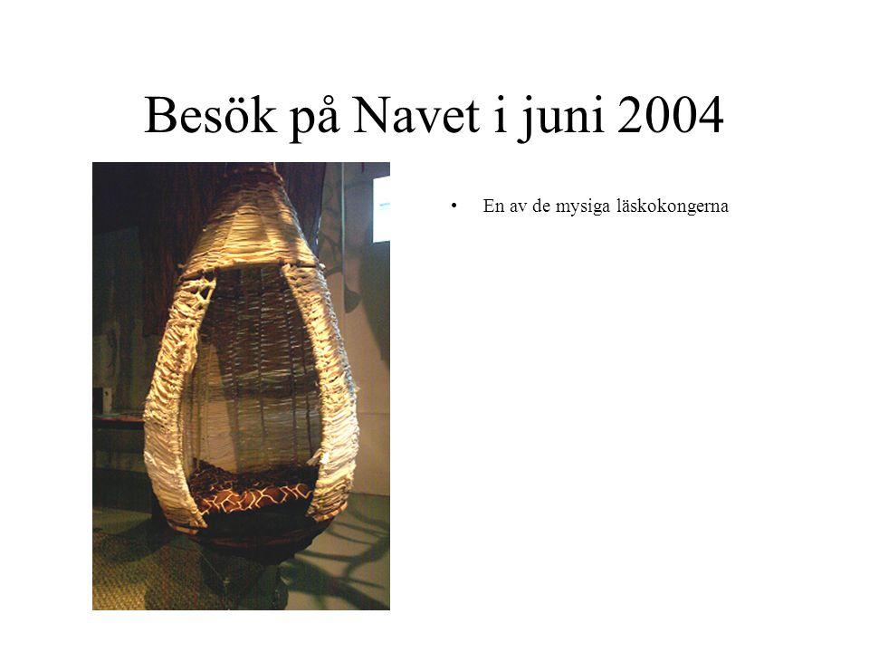 Besök på Navet i juni 2004 En av de mysiga läskokongerna