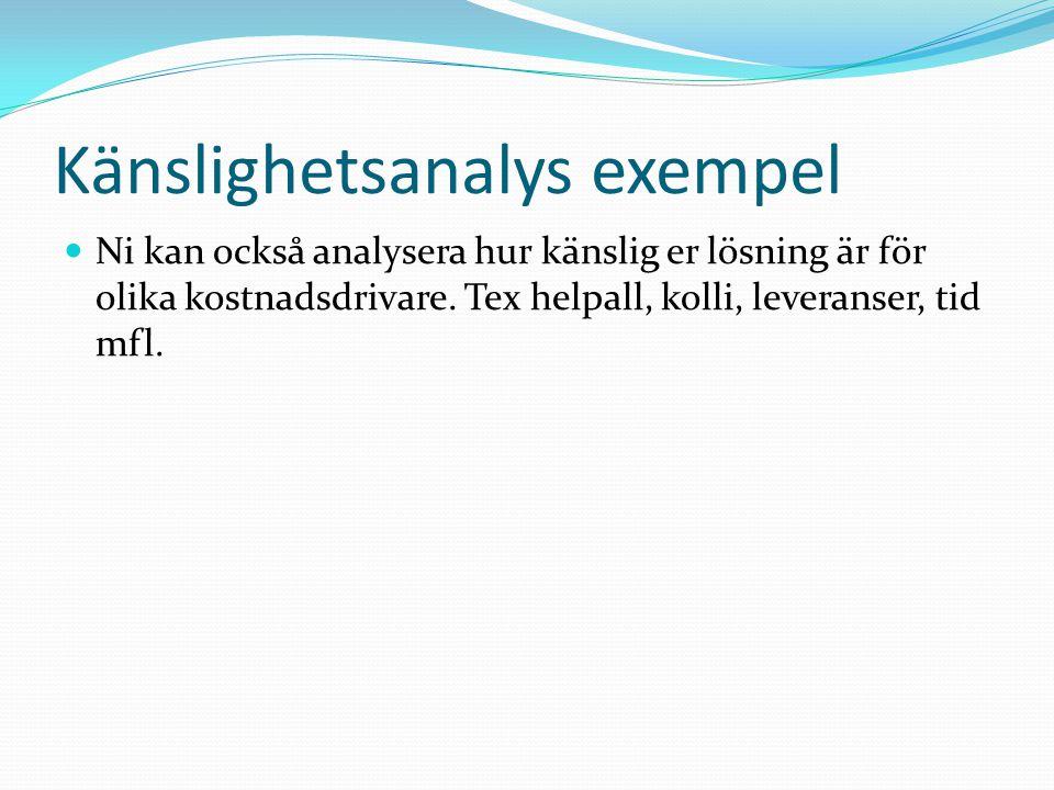 Rapport Uppgift 5: Sammanställ i rapport Skriv en tydlig och trovärdig rapport där ni redovisar ert tillvägagångssätt, beräkningar, analyser och slutsatser.