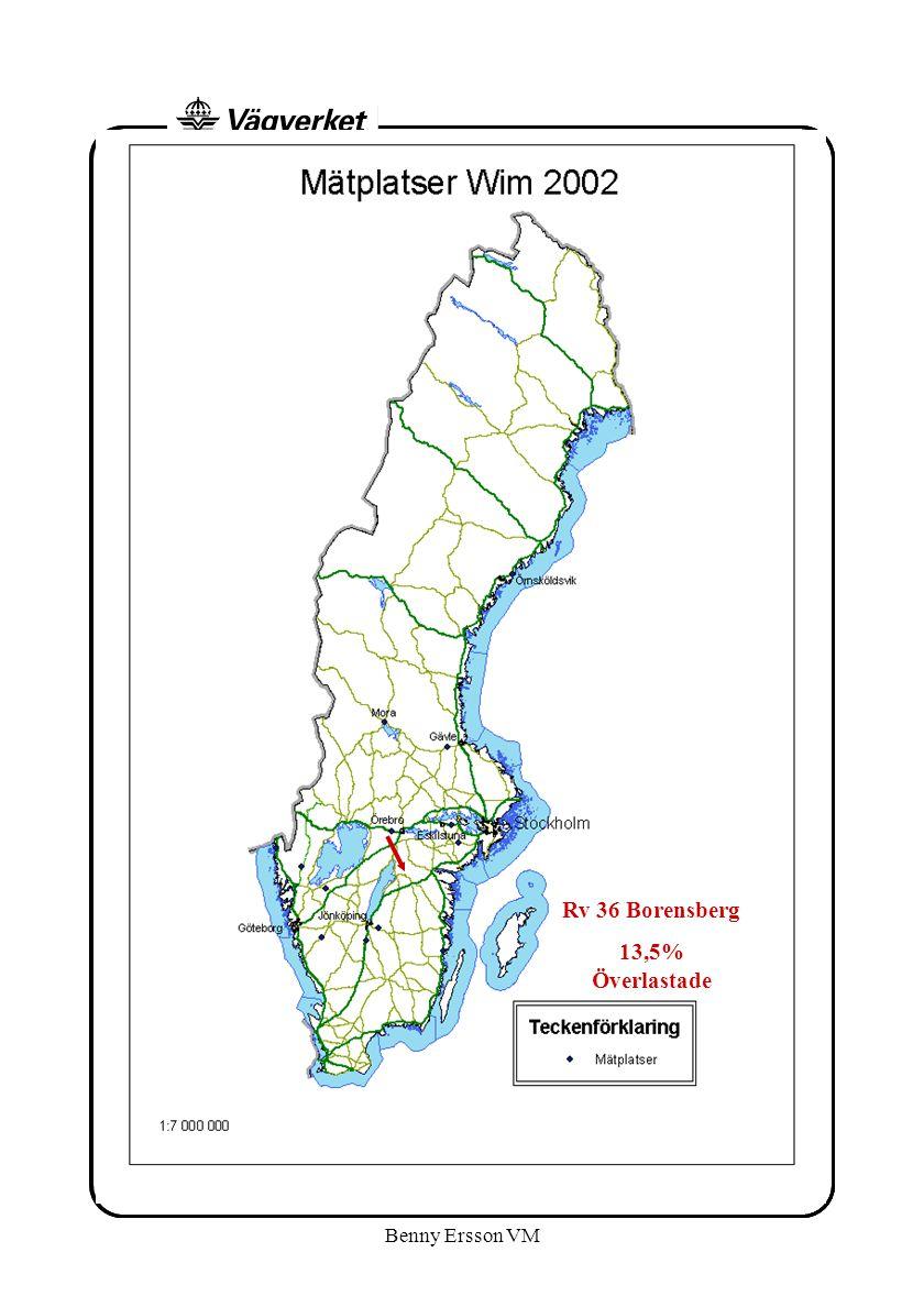 Benny Ersson VM Rv 36 Borensberg 13,5% Överlastade