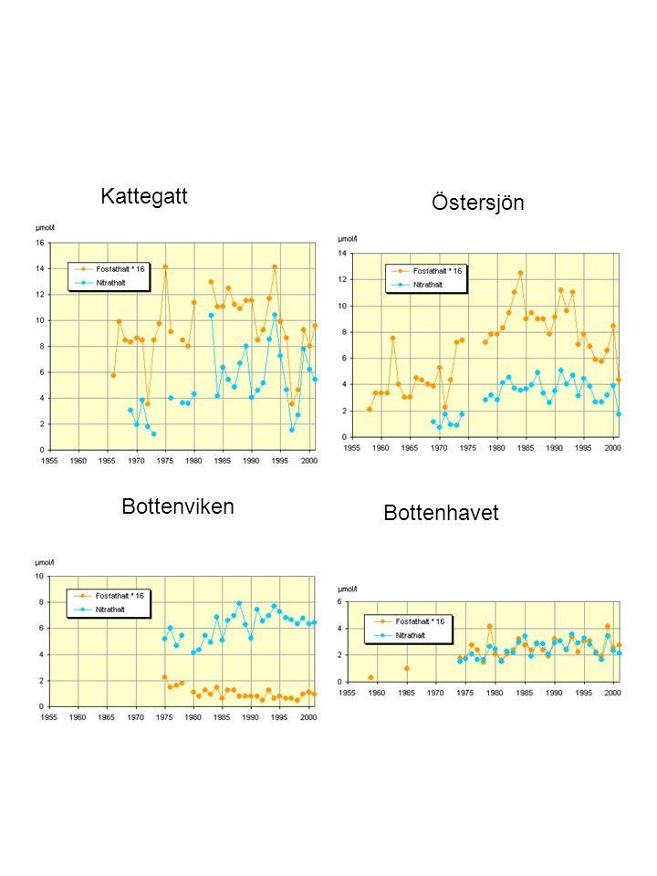Kattegatt Östersjön Bottenviken Bottenhavet