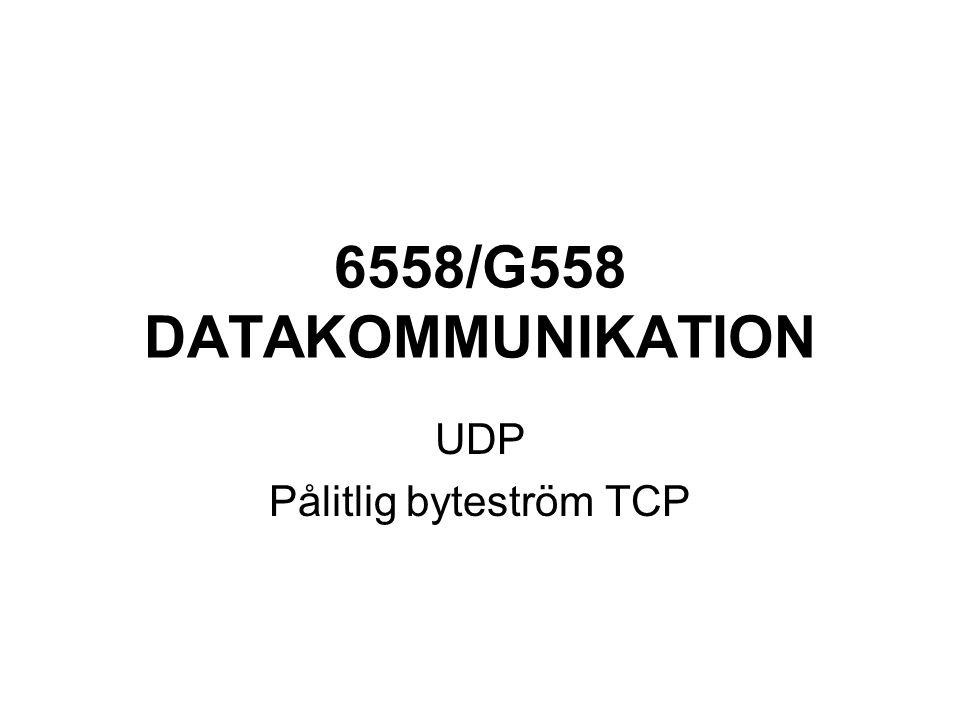 TCP dataöverföring