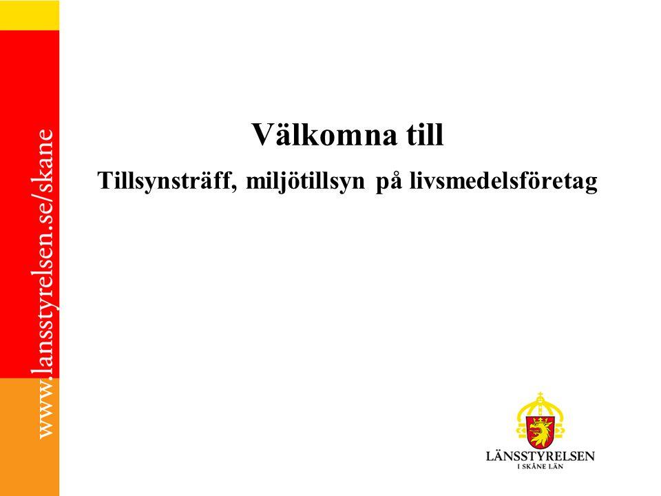 09.00-09.30Kaffe InledningLinda och Micke Presentation av Länsstyrelsen och Miljöskyddsenheten Industri Rune Brandt Presentationsrunda Ev.