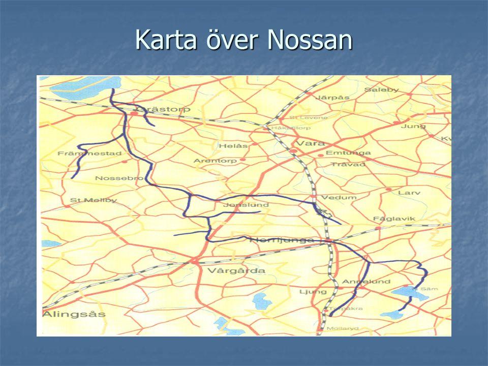 Karta över Nossan