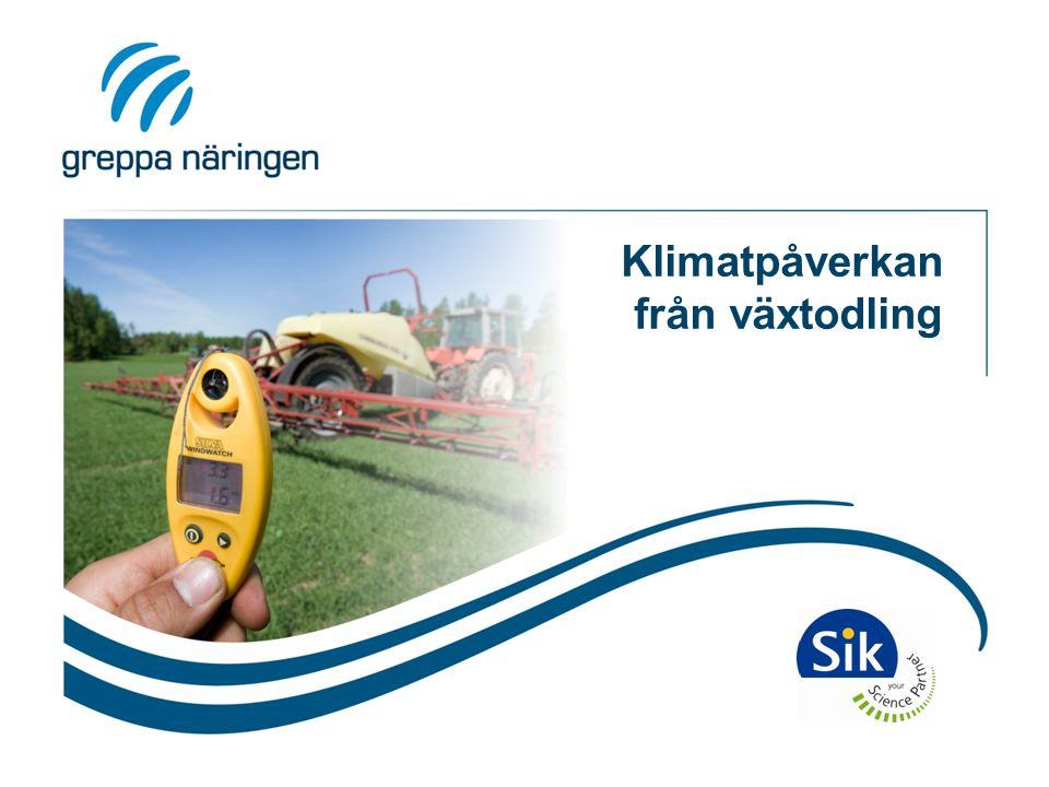 Utsläpp av växthusgaser, frilandsodling Prod.av NPK Prod.