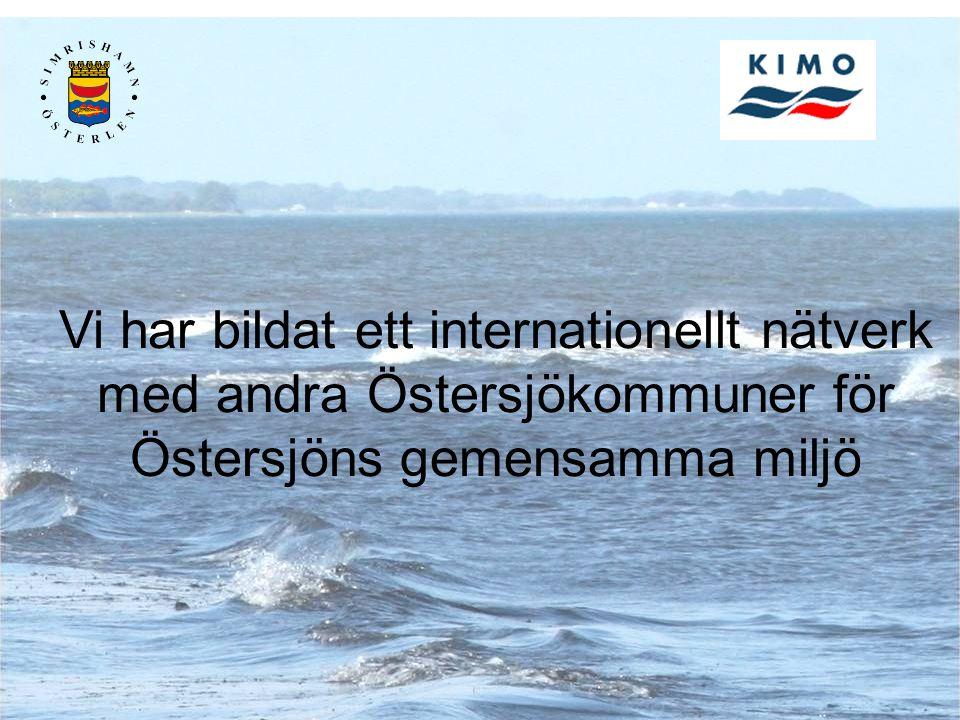 Vi har bildat ett internationellt nätverk med andra Östersjökommuner för Östersjöns gemensamma miljö