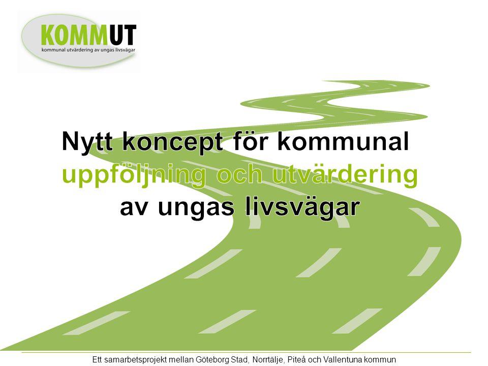 Ett samarbetsprojekt mellan Göteborg Stad, Norrtälje, Piteå och Vallentuna kommun