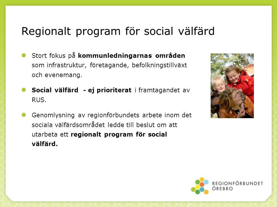 Det sociala välfärdsprogrammet – strategier (4) Kunskapsutveckling