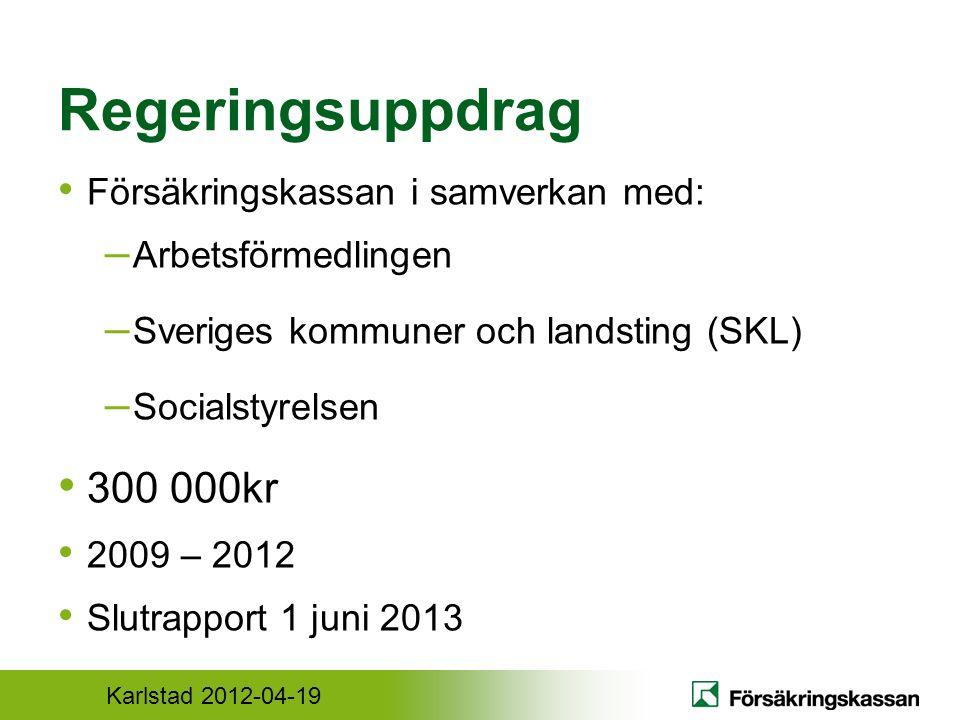 Karlstad 2012-04-19 Kriterier Bästa tillgängliga kunskap och beprövad erfarenhet Planeras och anordnas gemensamt Utbildningsprogram Utvecklingsplan för långsiktig kunskap och samverkan
