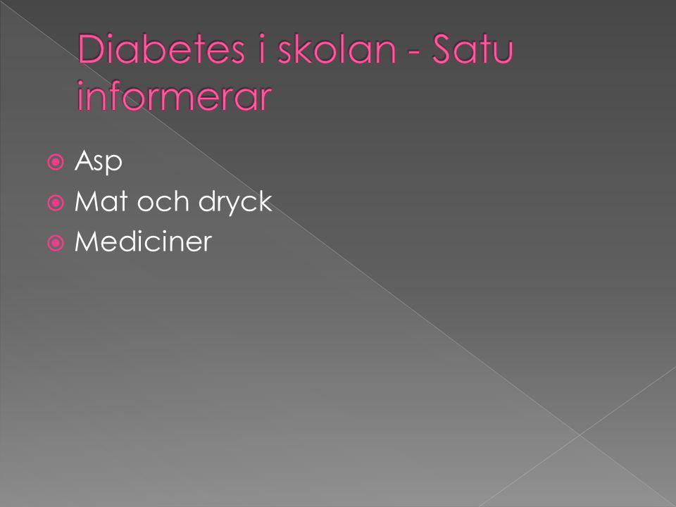  Asp  Mat och dryck  Mediciner